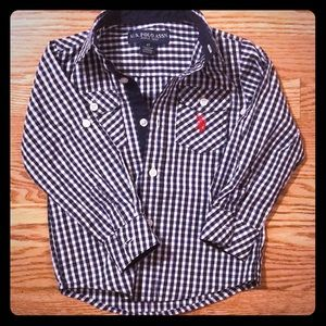 US polo 4T Button Down